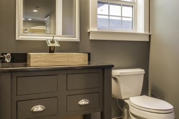 Half Bathroom in New Construction in Franklin