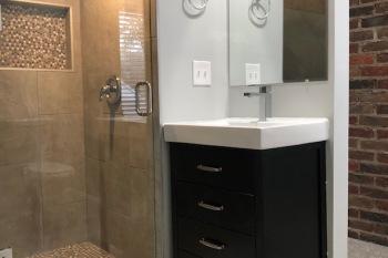 Bungalow Dormer Bathroom in Berkley