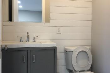 "Ferndale ""Iron Rail District"" Bathroom"