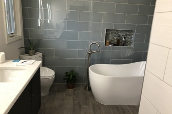 Master Bathroom Renovation in Royal Oak