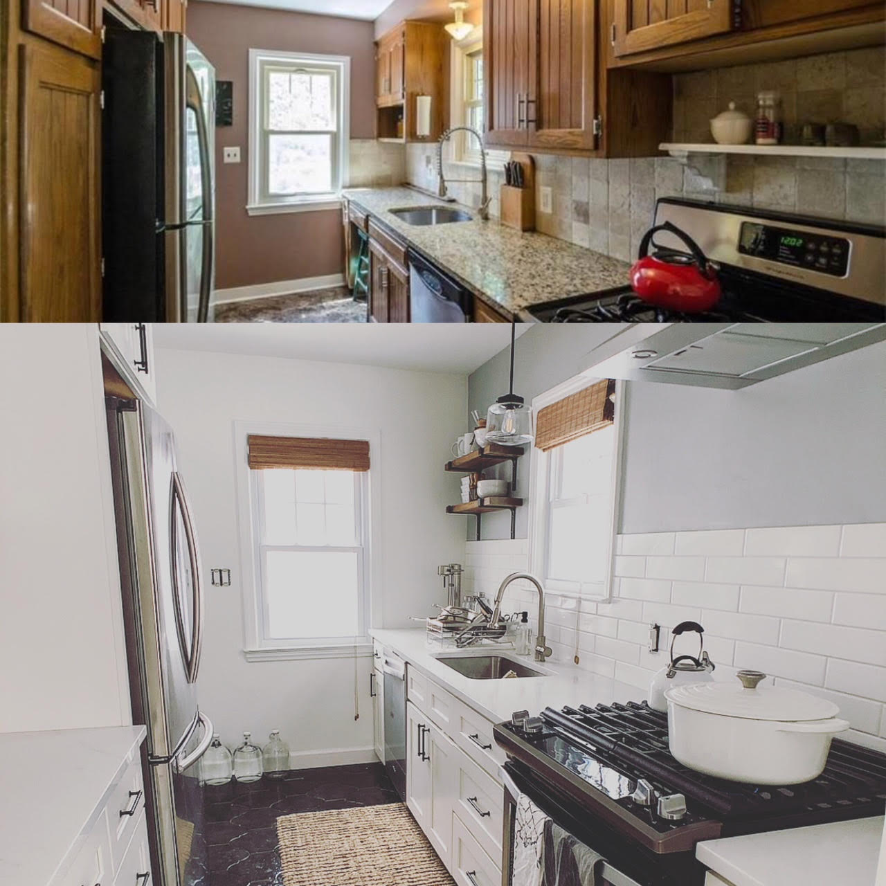New Kitchen Before And After: Kendall Project Management