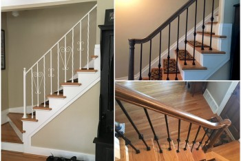 Project Management Staircase Railing Renovation