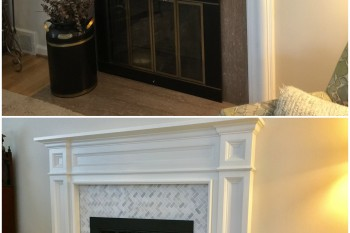 Project Management Fireplace Renovation
