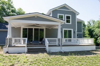 Beverly Hills Ranch Transformation- Back Porch