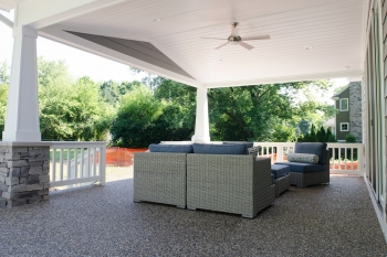 Beverly Hills Ranch Transformation- Back Porch