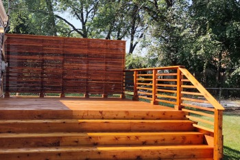 Deck Addition in Ferndale