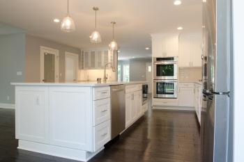 Open Concept Kitchen in Beverly Hills