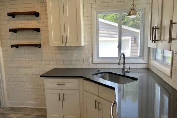 Open Shelving Kitchen in Royal Oak