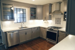 Bespoke Gray Kitchen in Huntington Woods