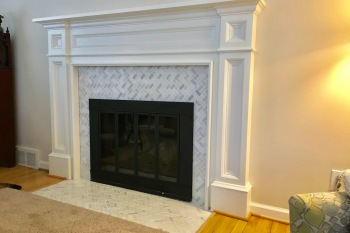 Fireplace Renovation in Huntington Woods