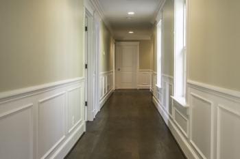 Moulding in Hallway in Franklin New Construction Home