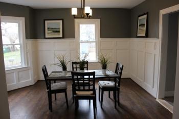 Moulding in Dining Room in Royal Oak