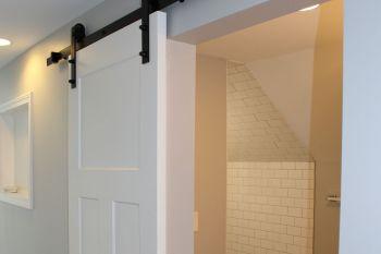 White Barn Door in Berkley